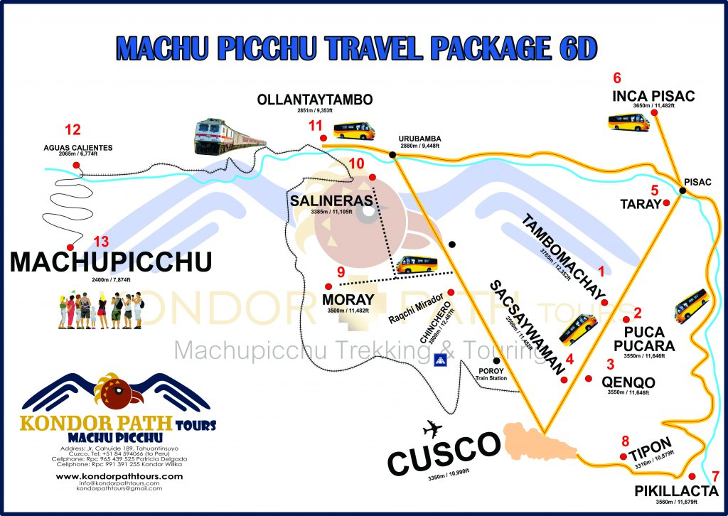 machu picchu travel package 6 day