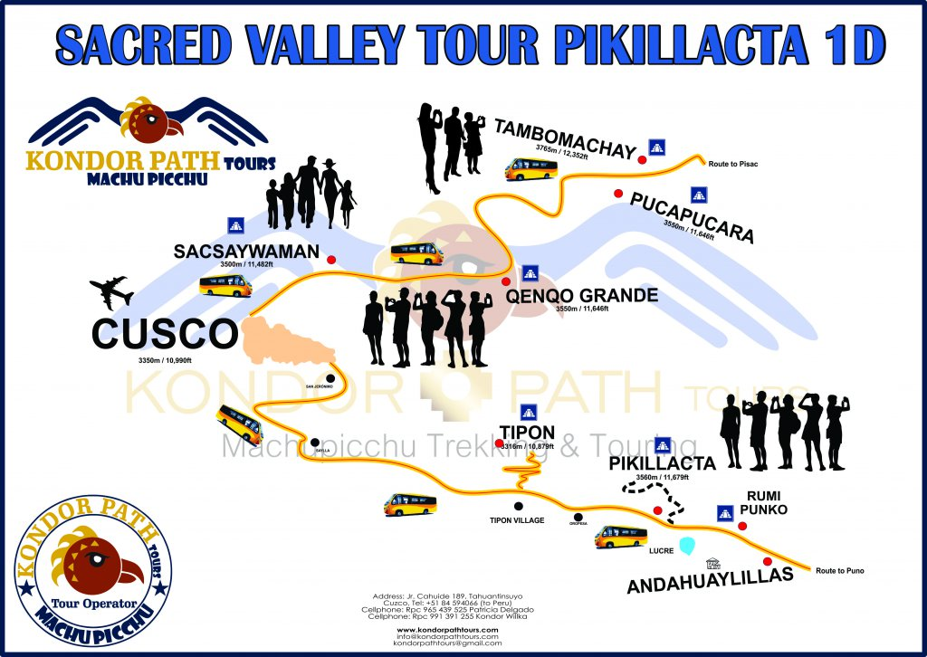 sacred valley tour pikillacta 1 day map