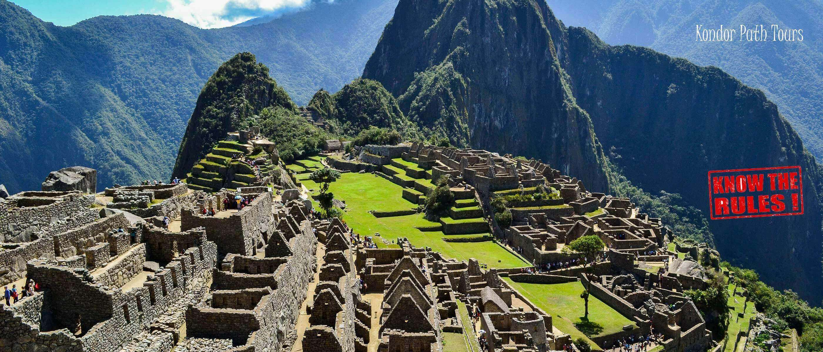prohibitions during the visit of machu picchu 2017