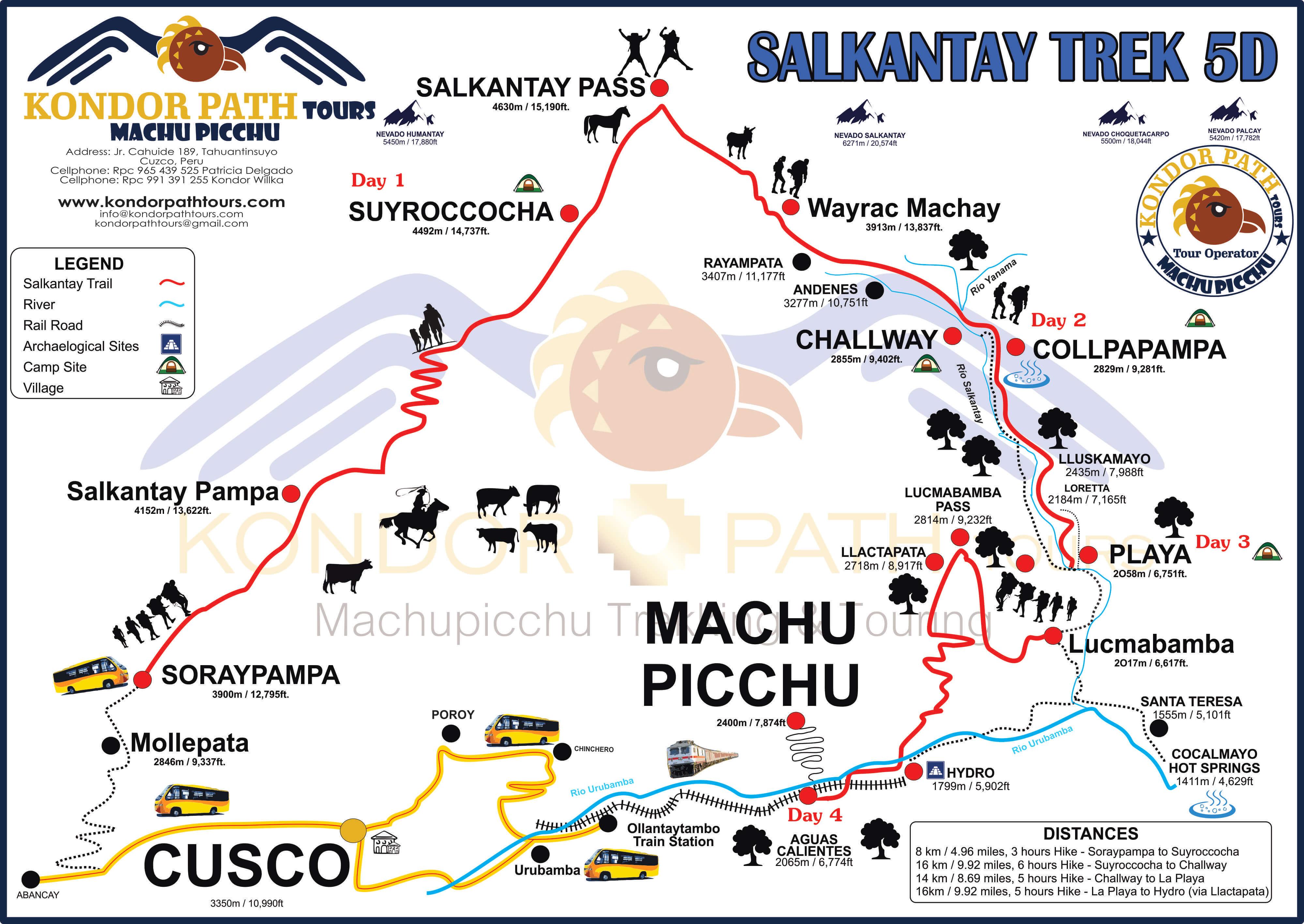 salkantay-trek-5-day-to-machu-picchu-map